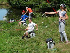 A la découverte des joies de la pêche