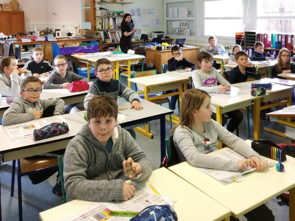 Découverte des milieux aquatiques avec l'école de Saint-Michel-sur-Meurthe