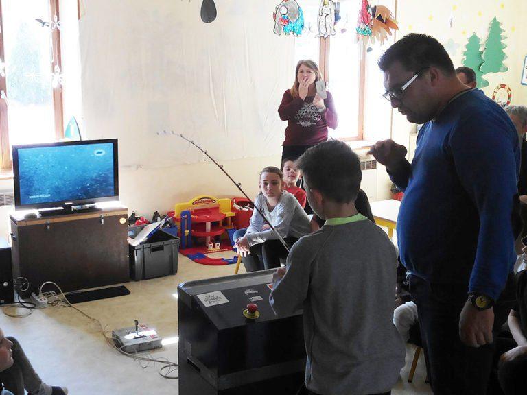 Atelier Pêche Nature de Nomexy et animation pêche à Thiéfosse