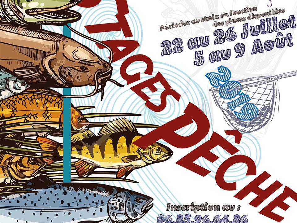 2ème session de stages pêche tous publics