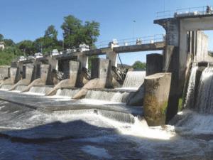 La centrale hydroélectrique de Saint-Laurent à Epinal
